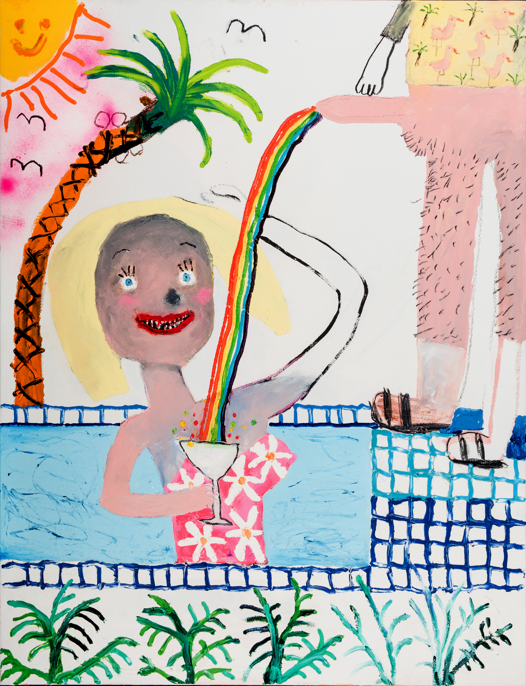 Bel Fullana, Mamading in the Swimming Pool, 2016