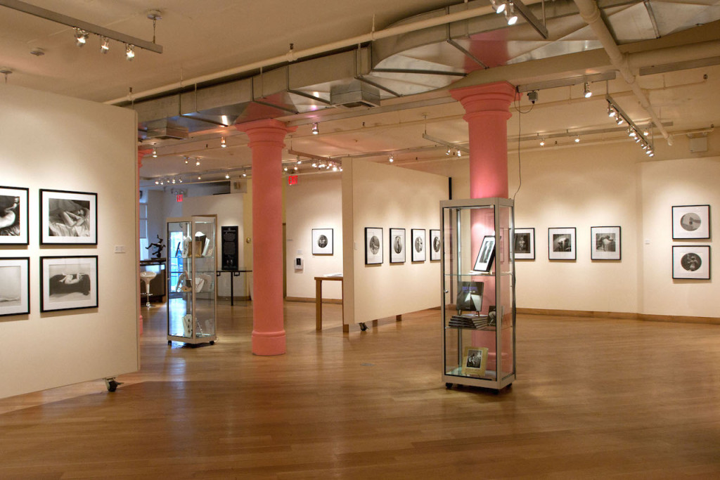 Interior view of the Leslie Lohman Museum