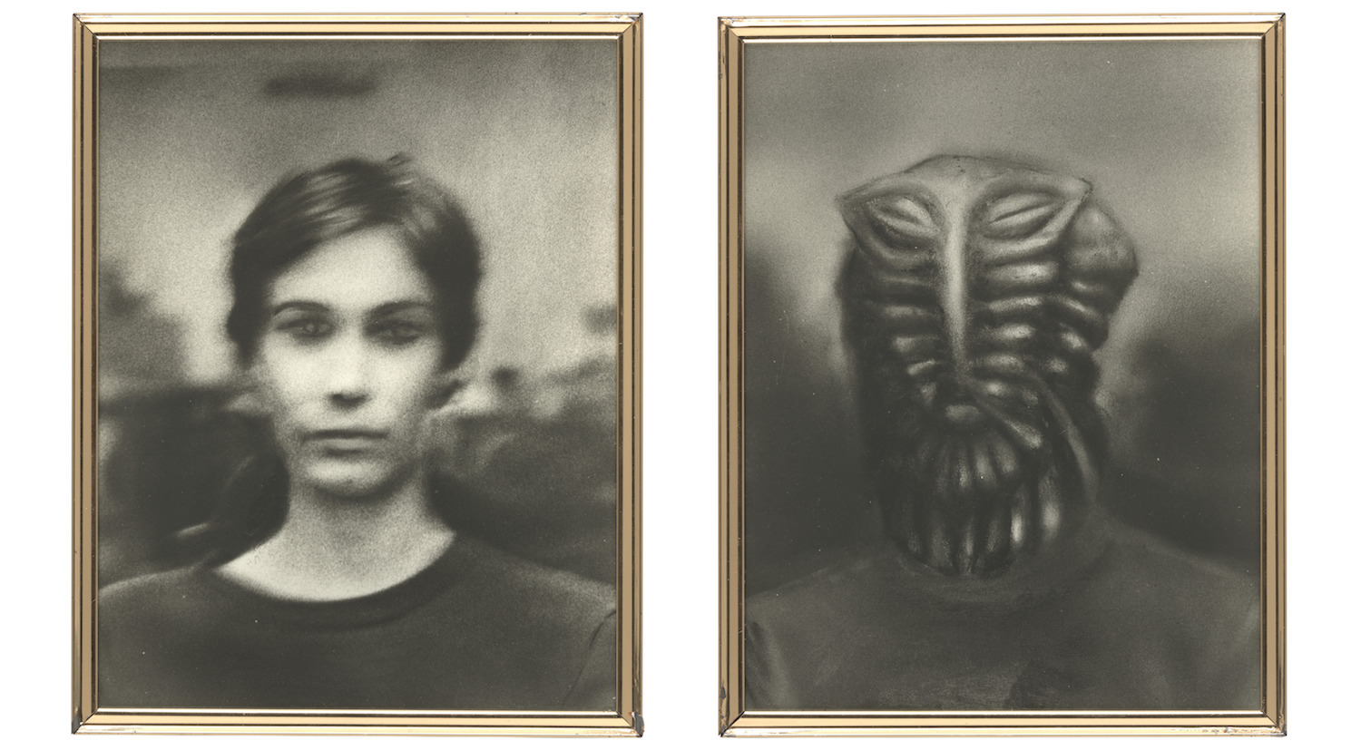 Jim Shaw, Martian Portraits, 1978. © Jim Shaw. Courtesy of the artist and Blum & Poe, Los Angeles/New York/Tokyo