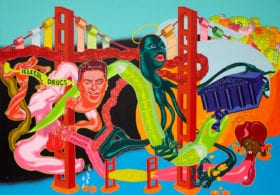 Peter Saul, Government of California, 1969. Collection of Brian Donnelly, New York © Peter Saul Courtesy Mary Boone Gallery, New York