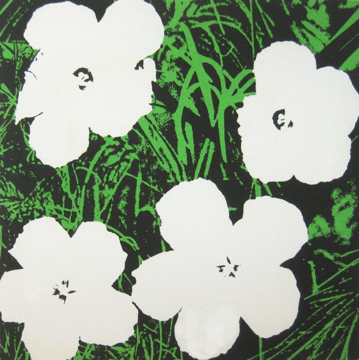 Andy Warhol, Flowers (MoMA). 1965. Image courtesy of Alden Projects, New York.