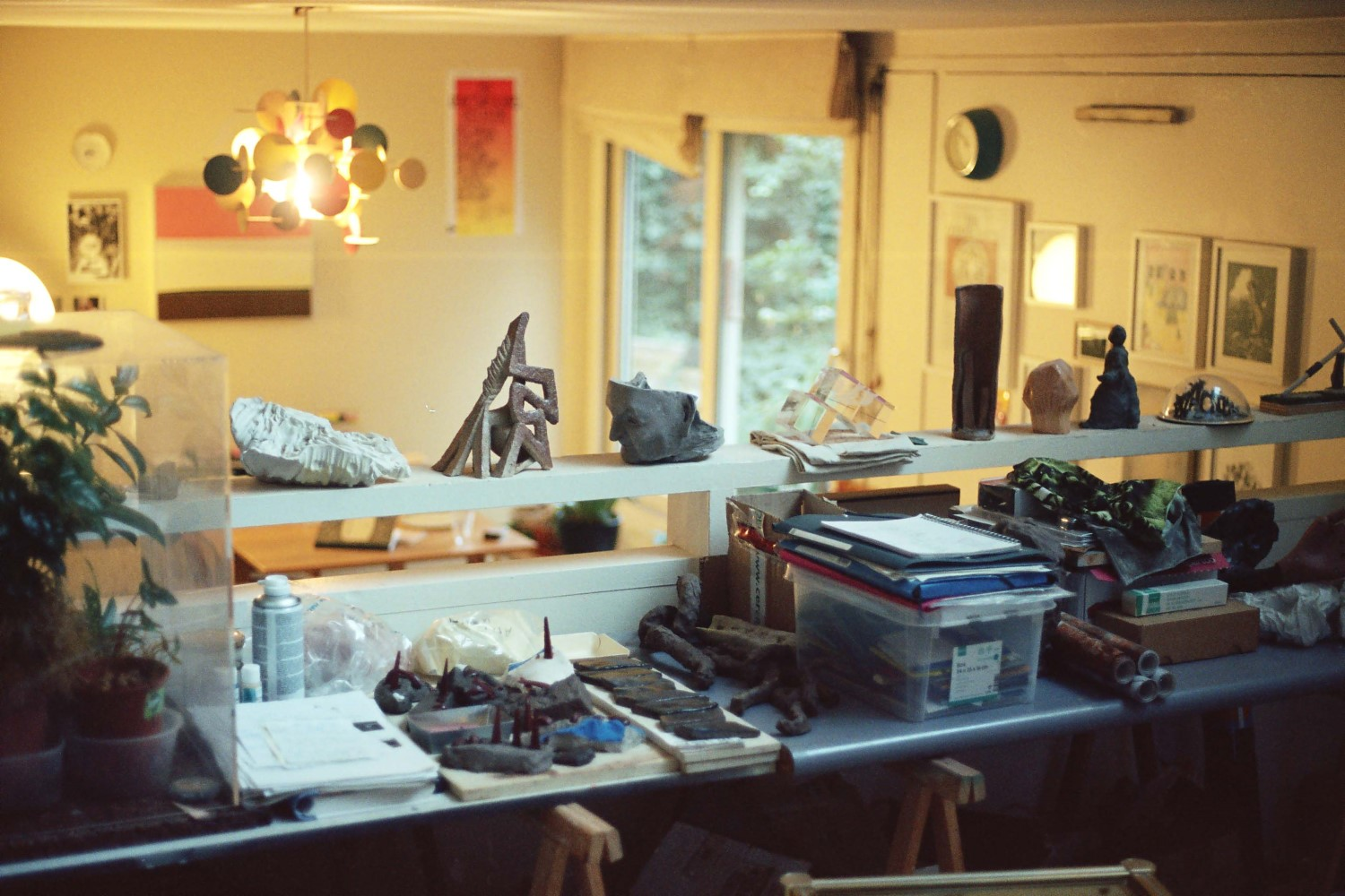 Bettina Samson's studio
