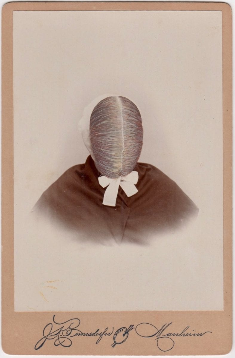 Butler, Tom 'Manheim', 2018 Gouache on Albumen print 16.5x10.8cm