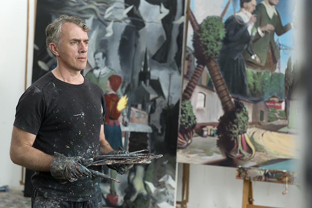 Neo Rauch portrait uwe Walter