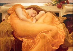 Flaming June, by Frederic Leighton (c1895)©Leighton House Museum, Photo by Kevin Moran