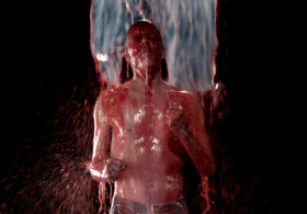 bill viola inverted birth artist video