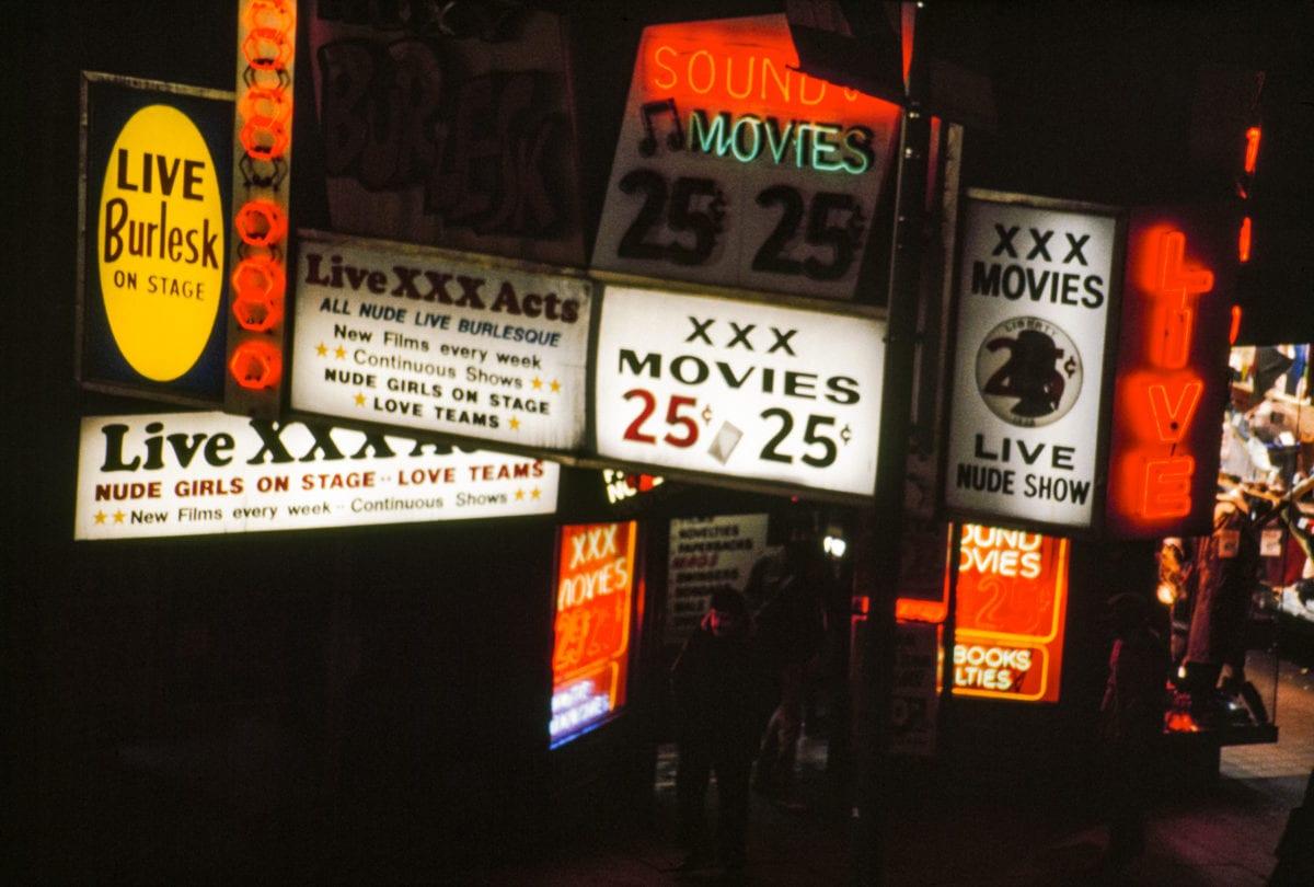 Jane Dickson, Times Square