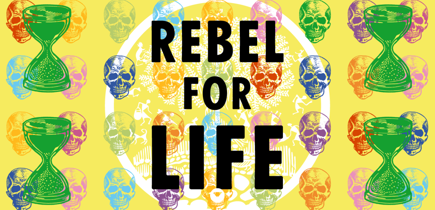 Poster for Extinction Rebellion, who organised the environmental protest where Gavin Turk was arrested