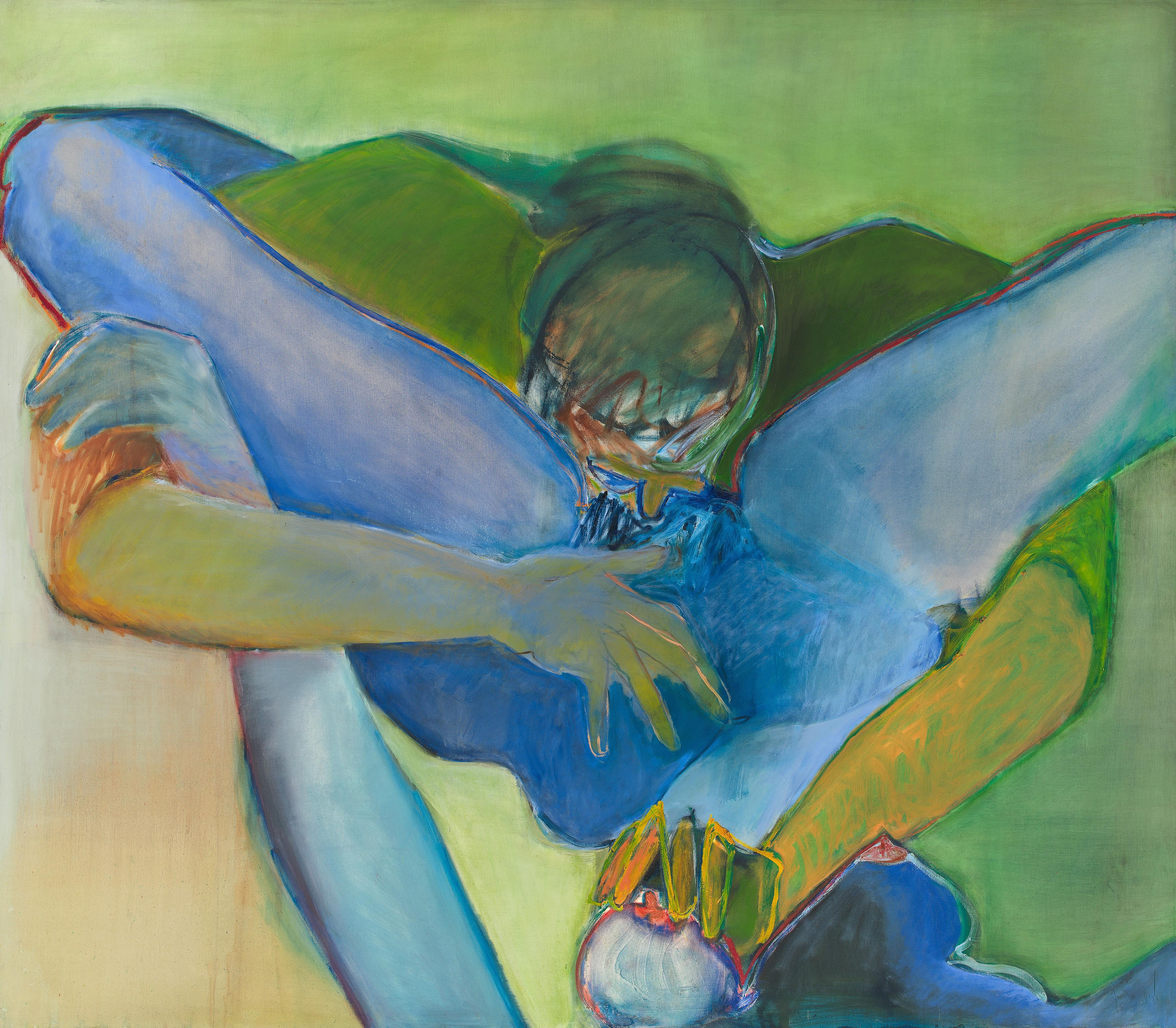 joan semmel untitled erotic erotica nude naked painting painter artist art