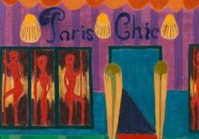 Tal R Painting Danish artist