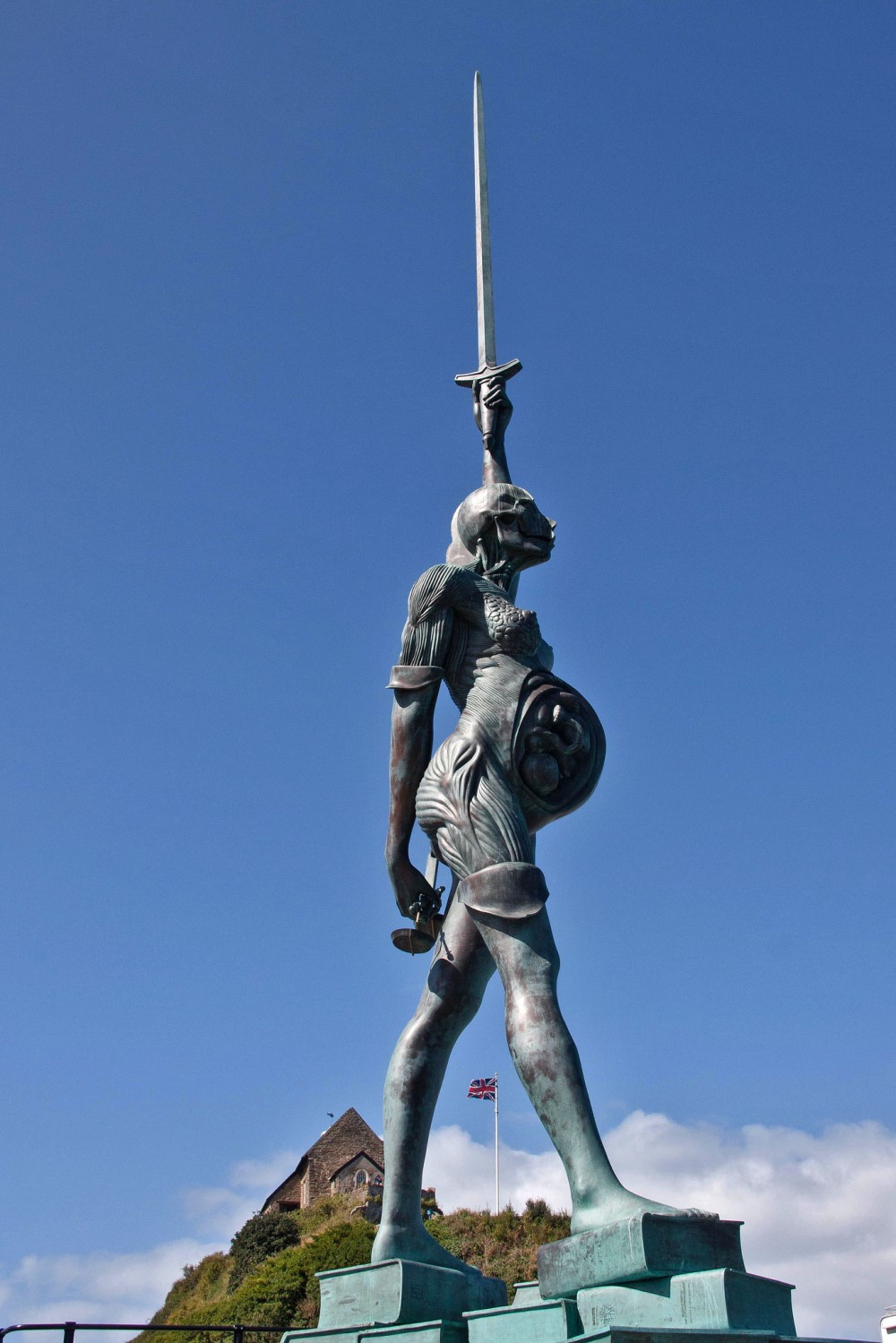 Verity, by Damien Hirst. Photo credit: Mark Robinson