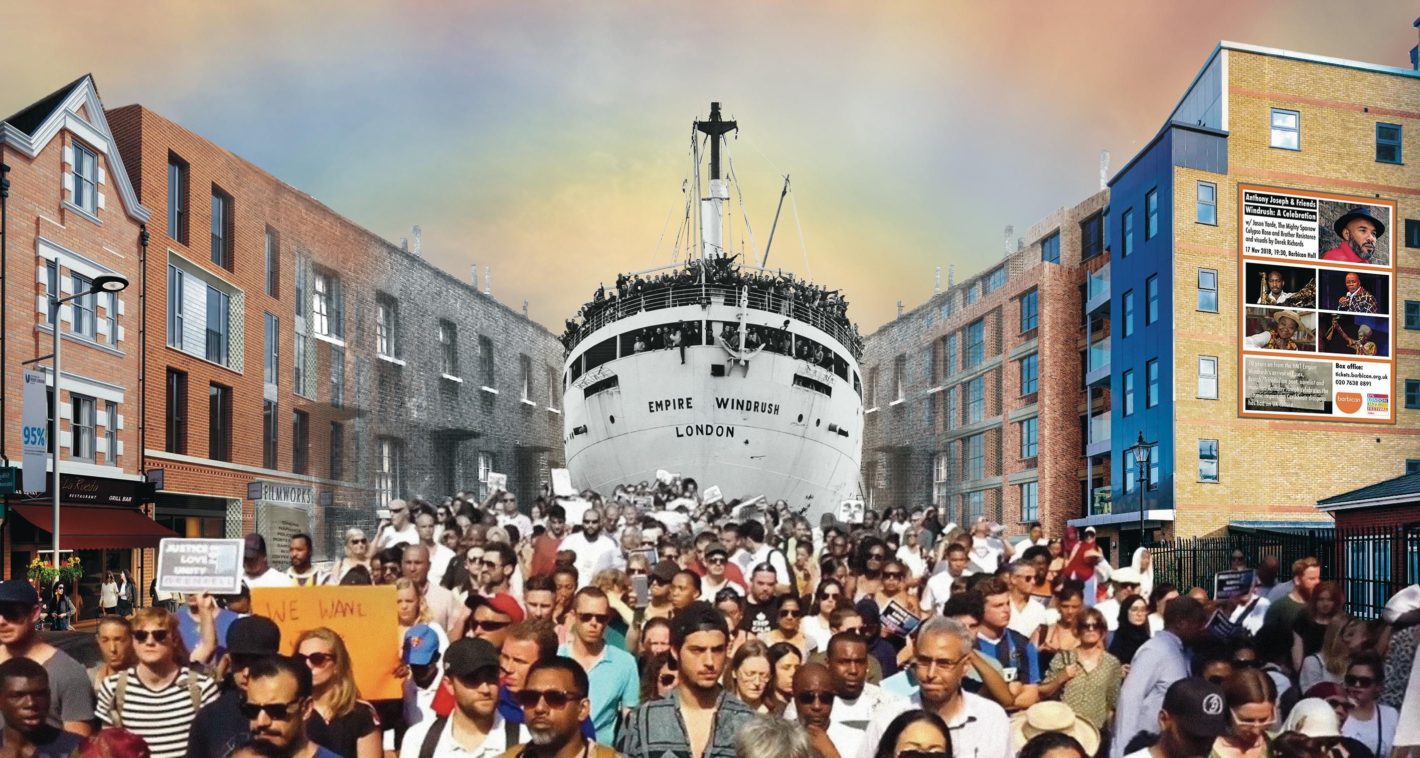 Artwork for Windrush: A Celebration