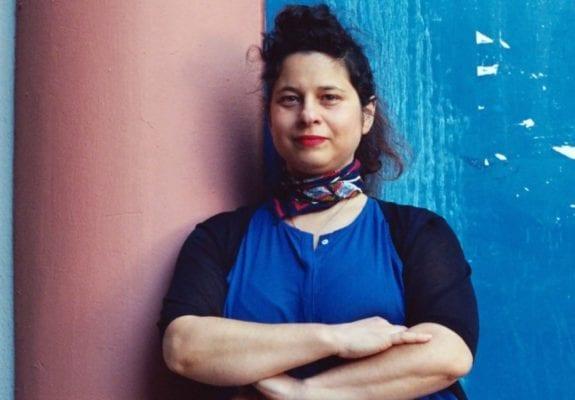 Bettina Samson in her studio