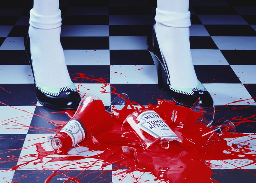 Miles Aldridge, A Drop of Red, 2001