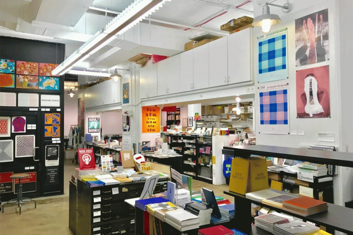The Printed Matter store in New York