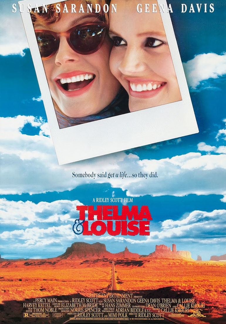 thelma and Louise poster film Ridley Scott