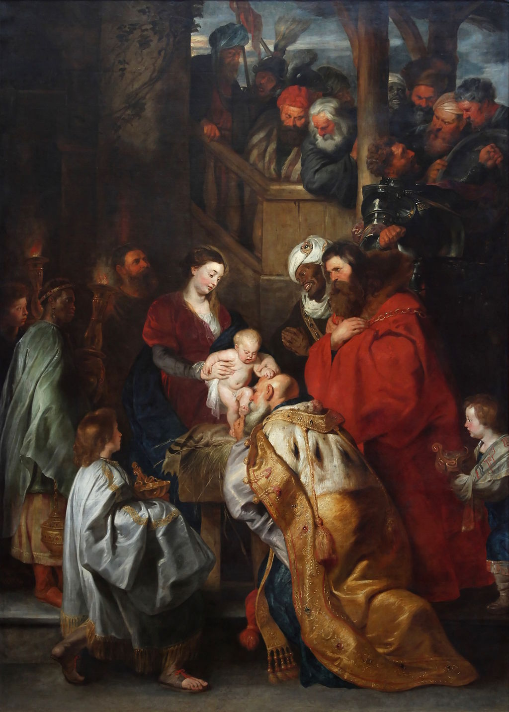 Peter Paul Rubens, The Adoration of the Magi, 1619