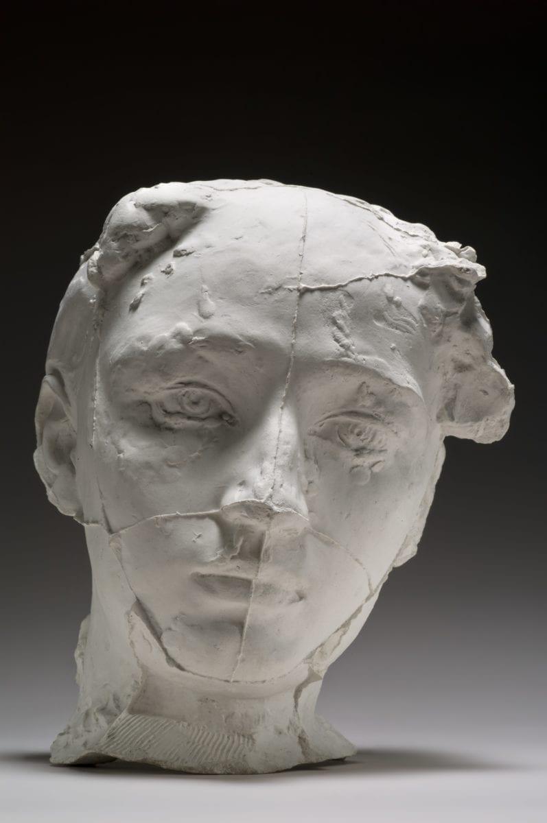 16. Auguste Rodin, Masque de Camille Claudel, 1889, Courtesy of Musée Rodin
