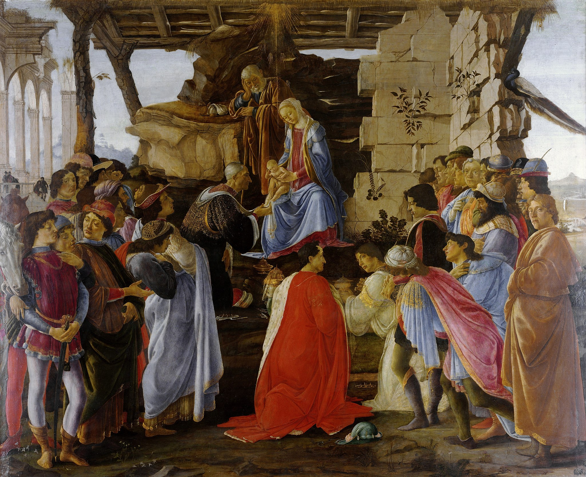 Sandro Botticelli, The Adoration of the Magi, c1476