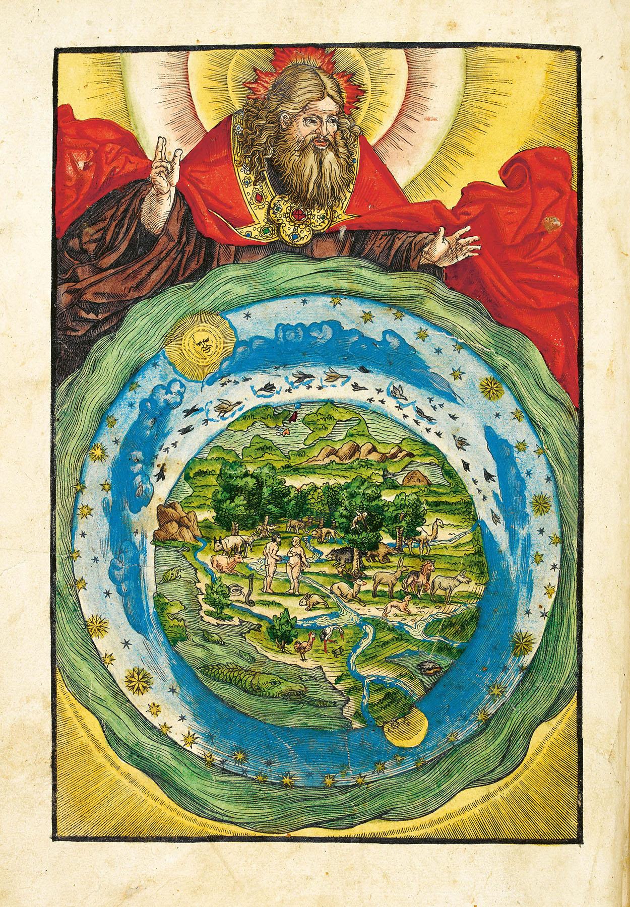 The Garden of Eden from Biblia, das ist, die gantze Heilige Schrifft Deudsch, Han Lufft: Wittenberg, 1536. British Library, London.