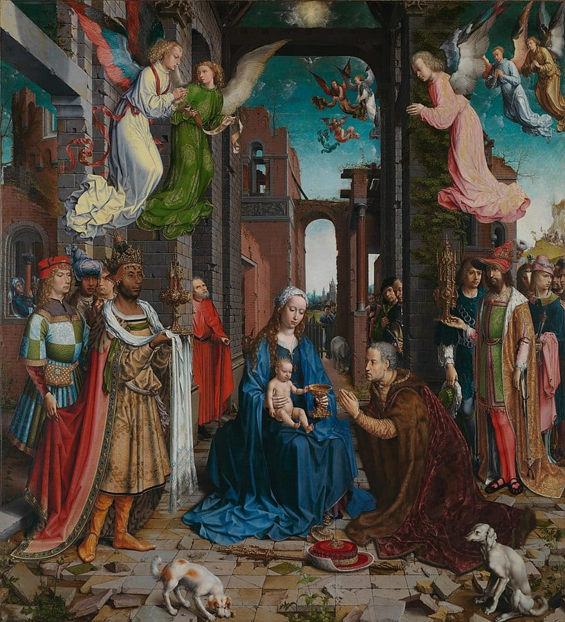 Jan Gossart, The Adoration of the Magi, 1510-1515