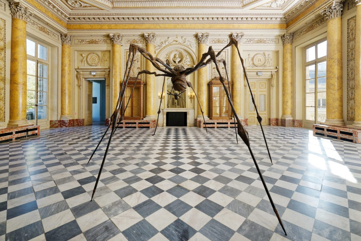 Louise Bourgeois, Spider. (Araignée), 1995. © The Easton Foundation / ADAGP, Paris 2017© Monnaie de Paris - Aurélien Mole