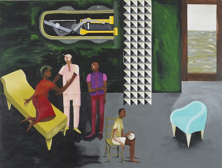 Le Rodeur: The Lock, 2016 Lubaina Himid