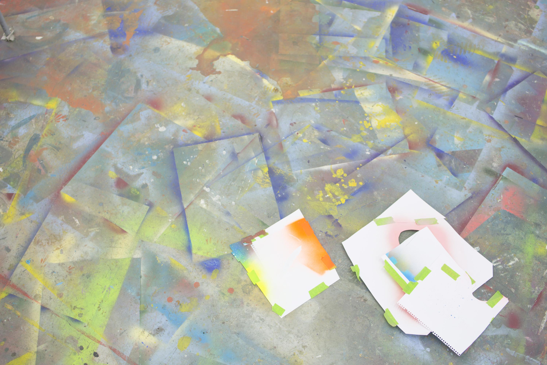 Joe Madeira's Rainbow Paintings are Razor-Sharp Critiques of