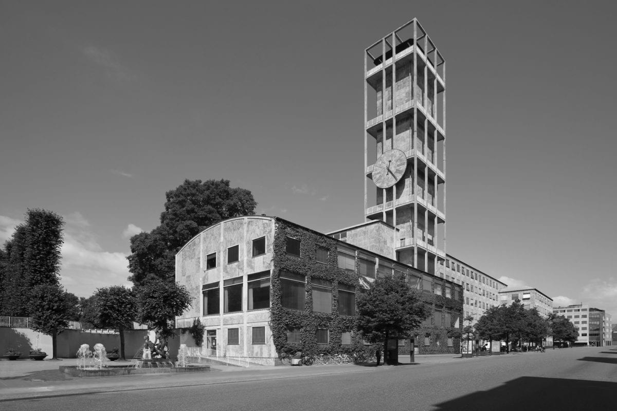 Town Hall, Aarhus, Denmark, 1939-41