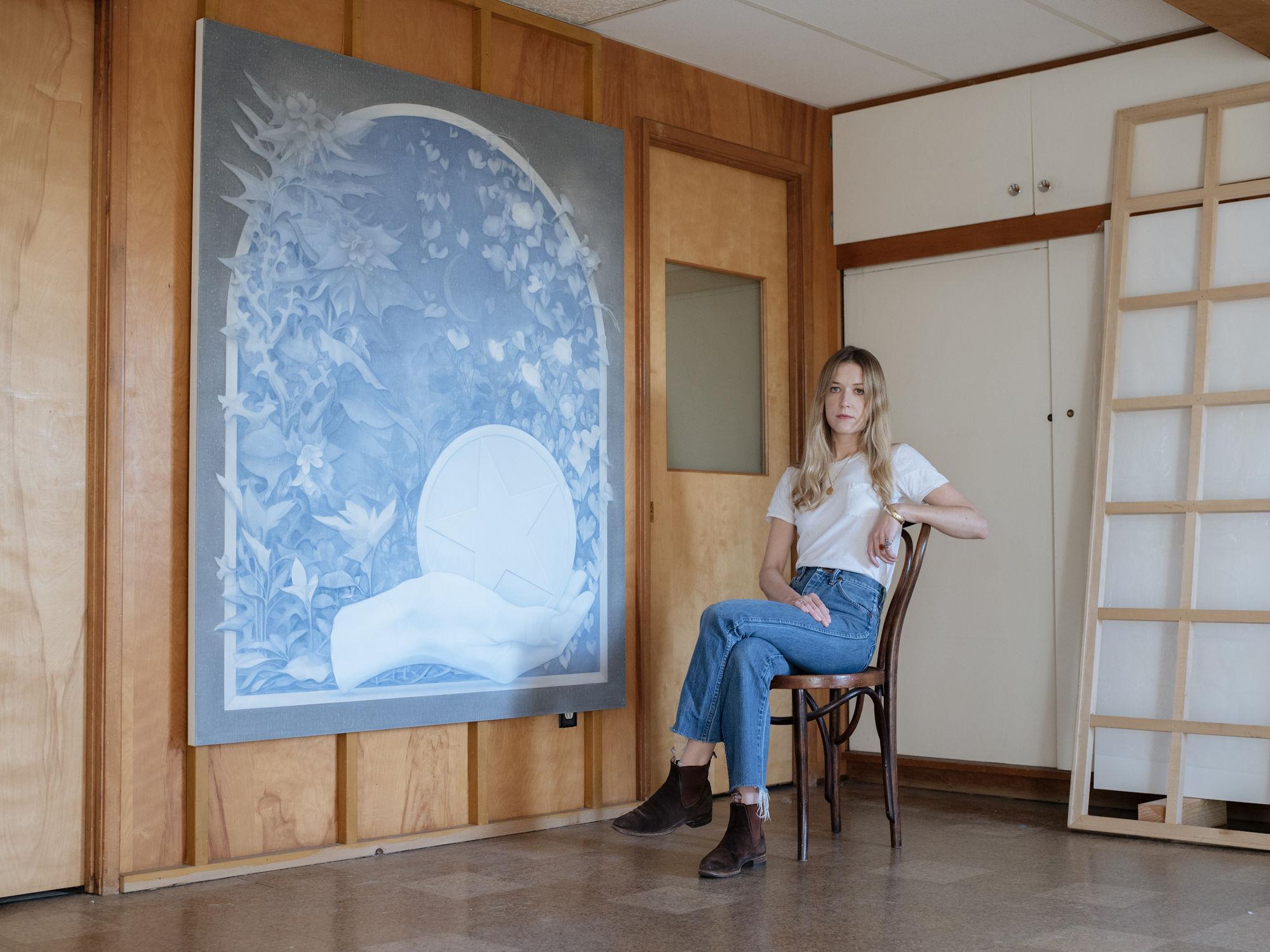 Theodora Allen's studio, photography by Max Knight