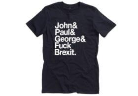 Jeremy Deller, Fuck Brexit T Shirt