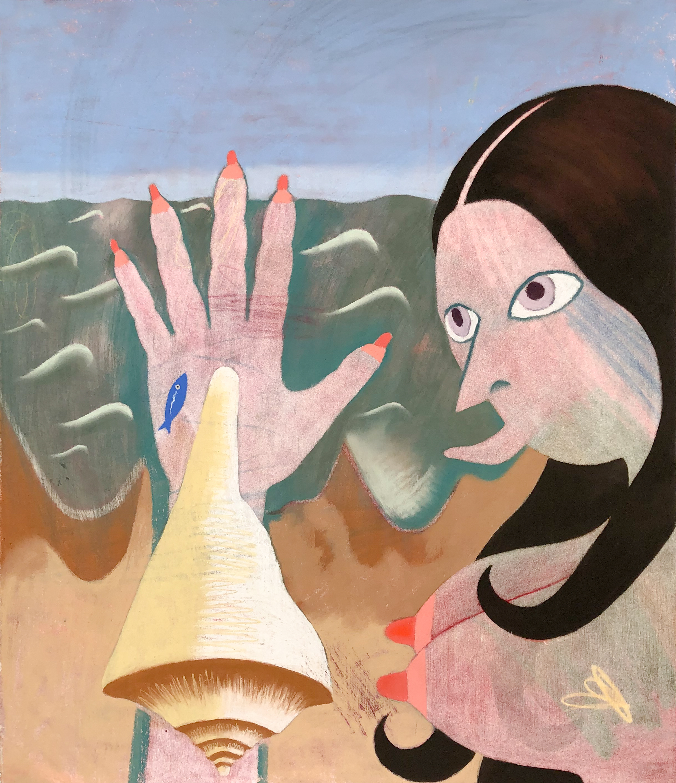 Sara Anstis, Nipple Fingers, 2019