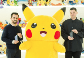 Amir Afshar and Jesse Cahn-Thompson receive Pokémon Scholarships