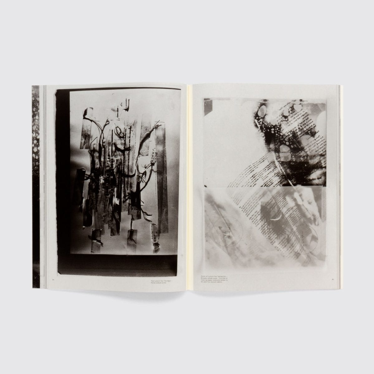 Vaughan Oliver: Archive, book two spread