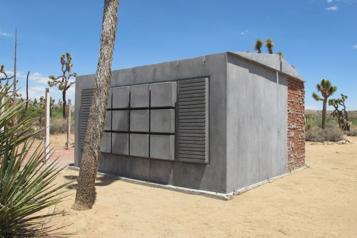 Rachel Whiteread, Joshua Tree Shack, 2014. Courtesy of the artist.