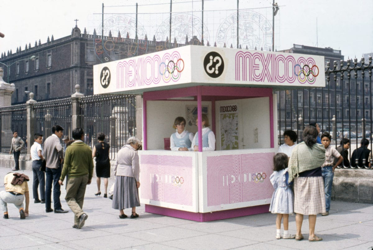04 Square information booth