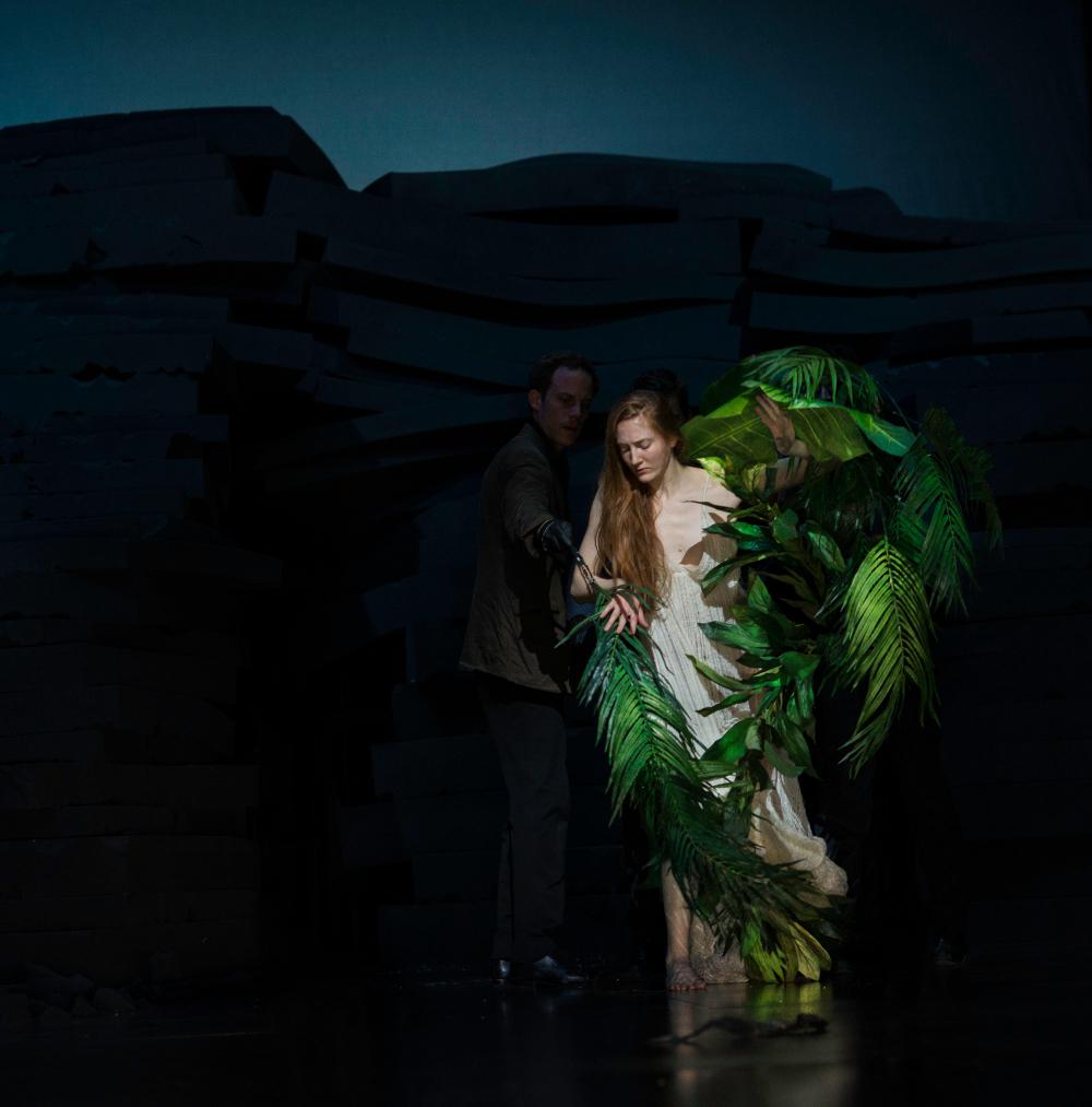Neues Stück I: Seit sie, 2018. Photo by Julian Mommert