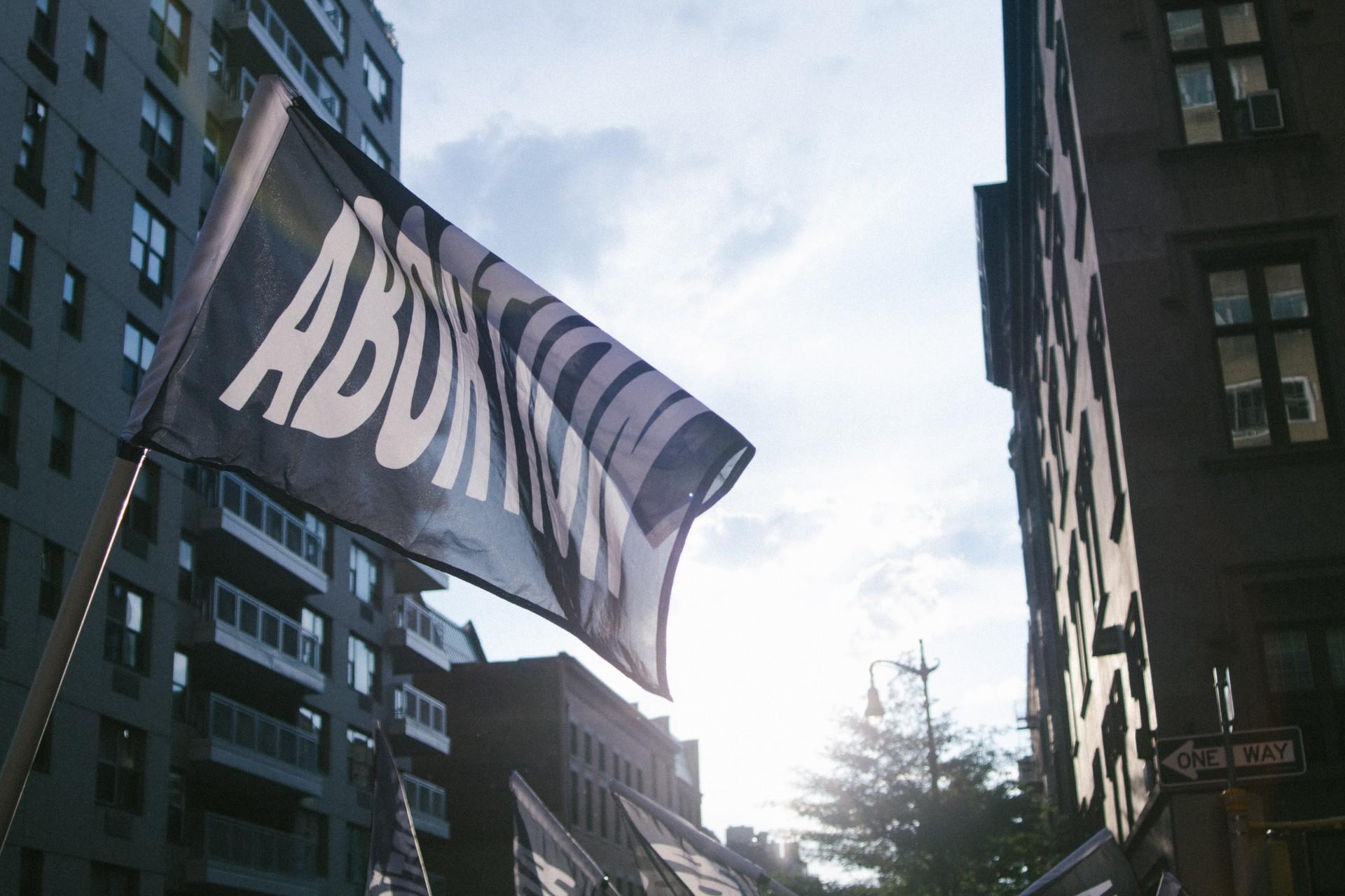 Viva Ruiz, A Joyful Noise: Thank God For Abortion Pride Parade Float. Photo: Elliot Luscombe