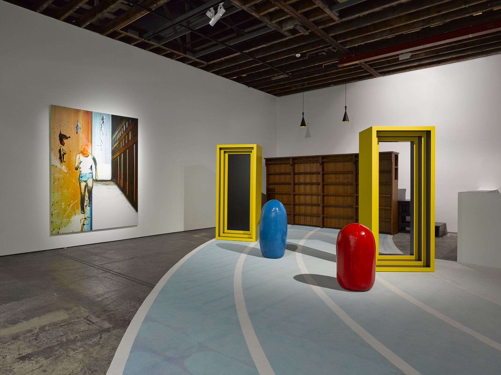 John Kørner, Installation view, Life in a Box, © John Kørner. Courtesy the artist and Victoria Miro, London/Venice
