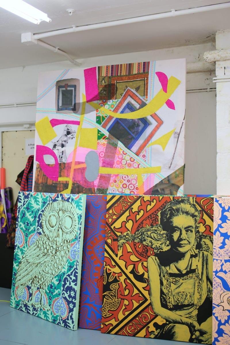 John Walter's studio, photography by Louise Benson