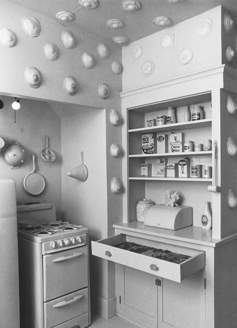 Nuturant Kitchen (detail), 1972. (Susan Frazier, Vicki Hodgetts,