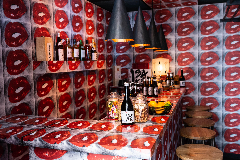 Daido Moriyama's Lip Bar at Selfridges in London