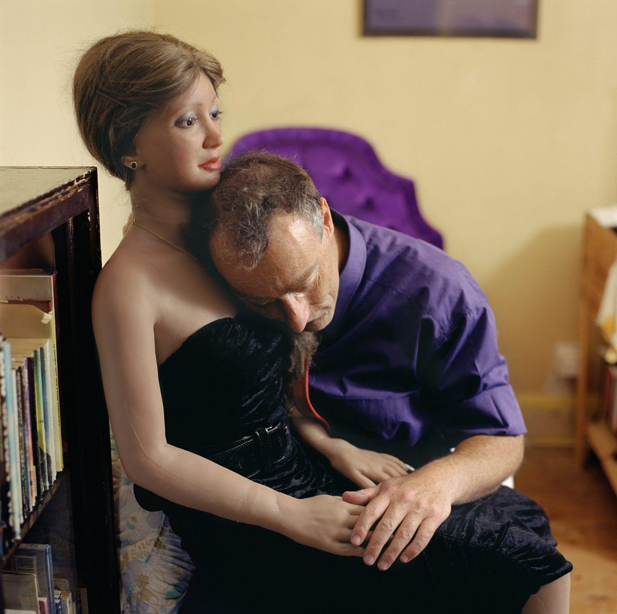 Rebecca 1, 2001, from the series, Still Lovers, Elena Dorfman