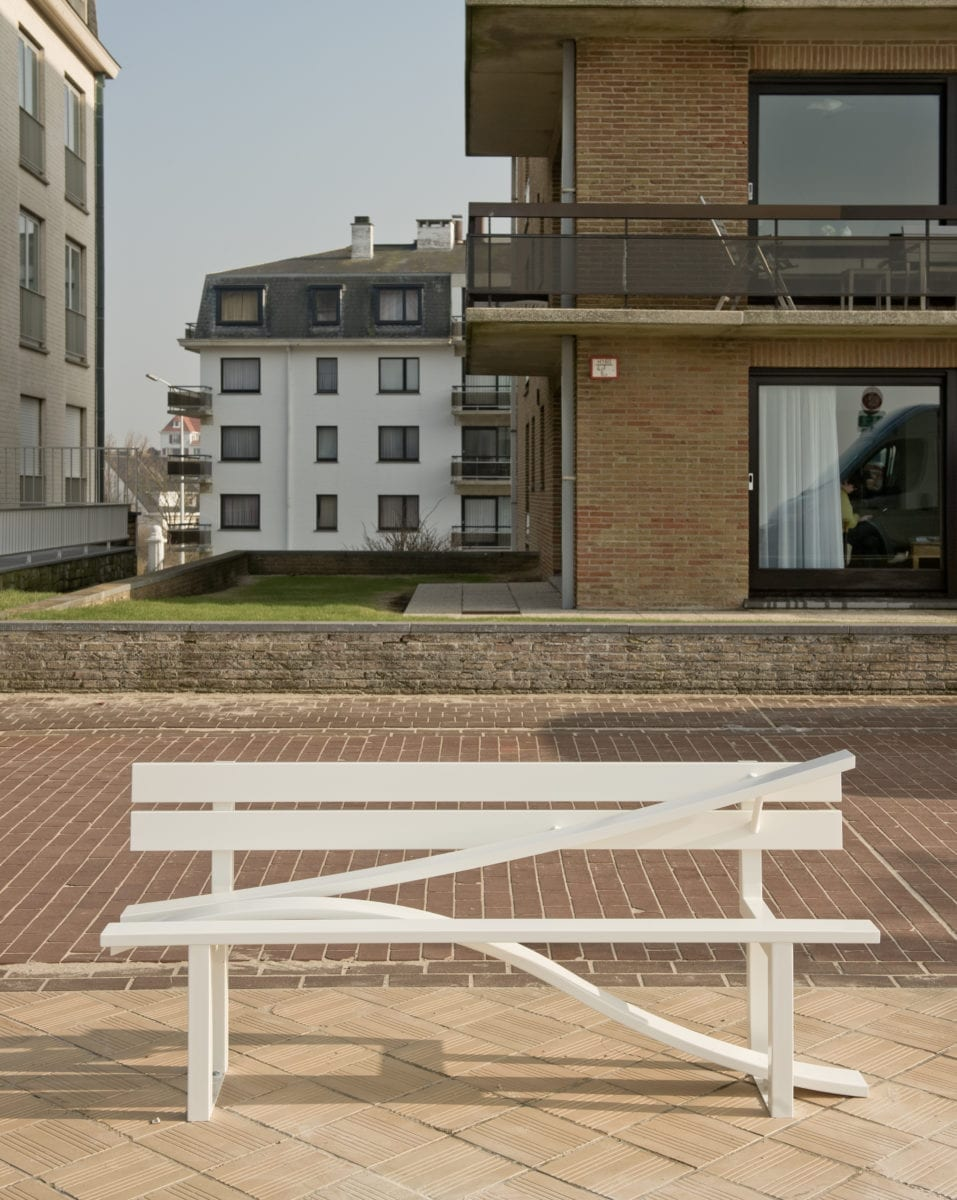 Jeppe Hein, Modified Social Bench O, 2008 with König Galerie, Berlin/ London