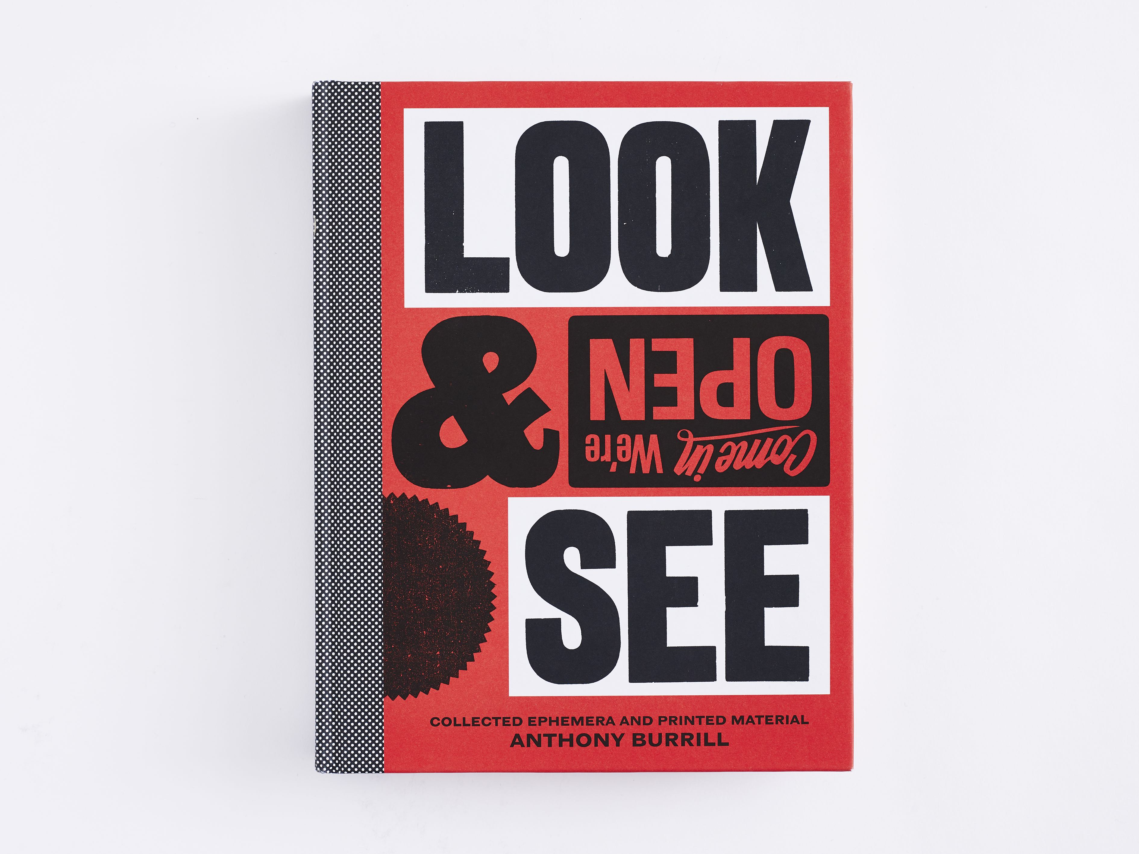 Look & See by Anthony Burrill