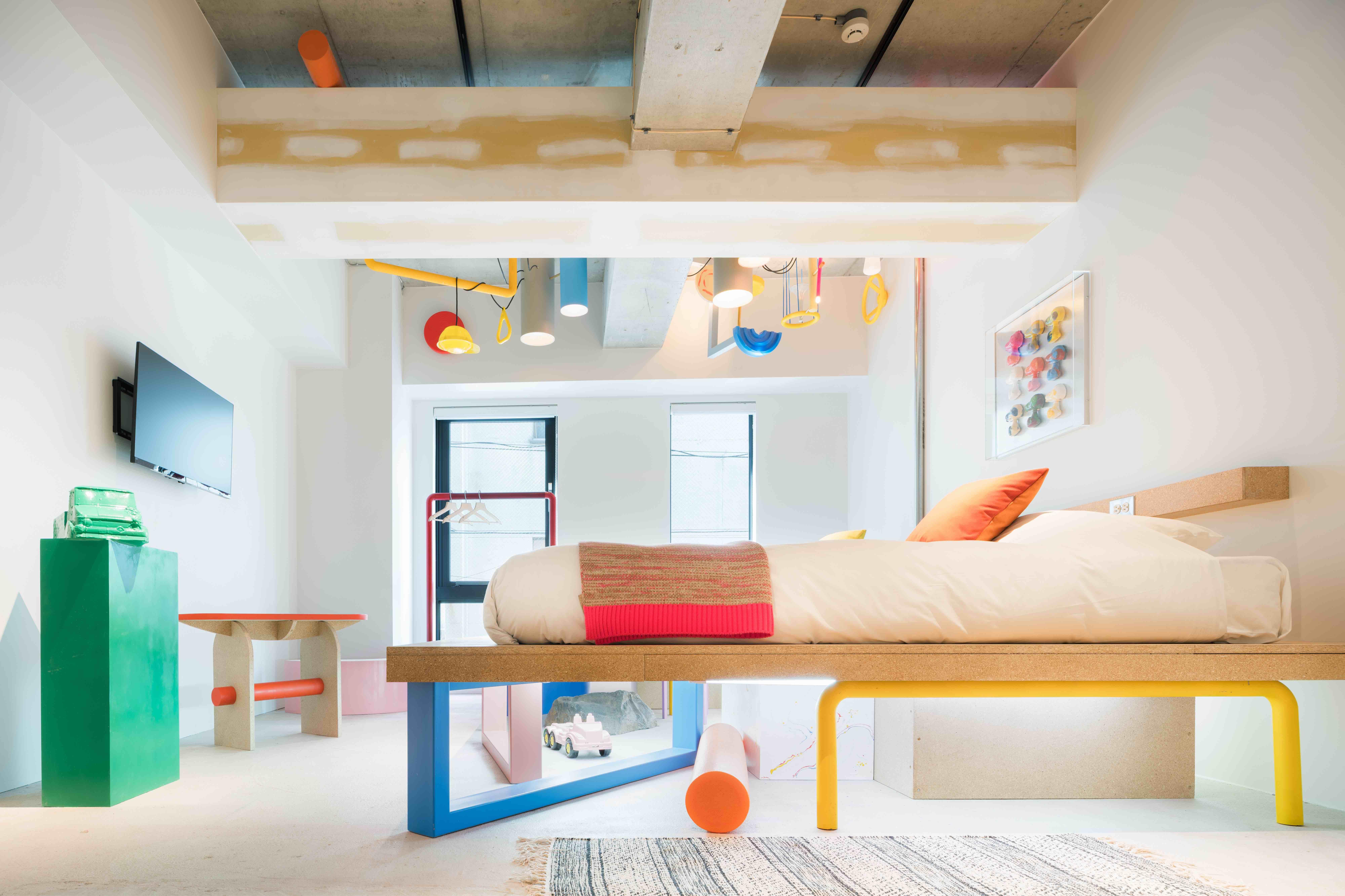 202 WONDER PARK,designed by Ryohei Murakami, BnA Akihabara, photo Tomooki Kengaku