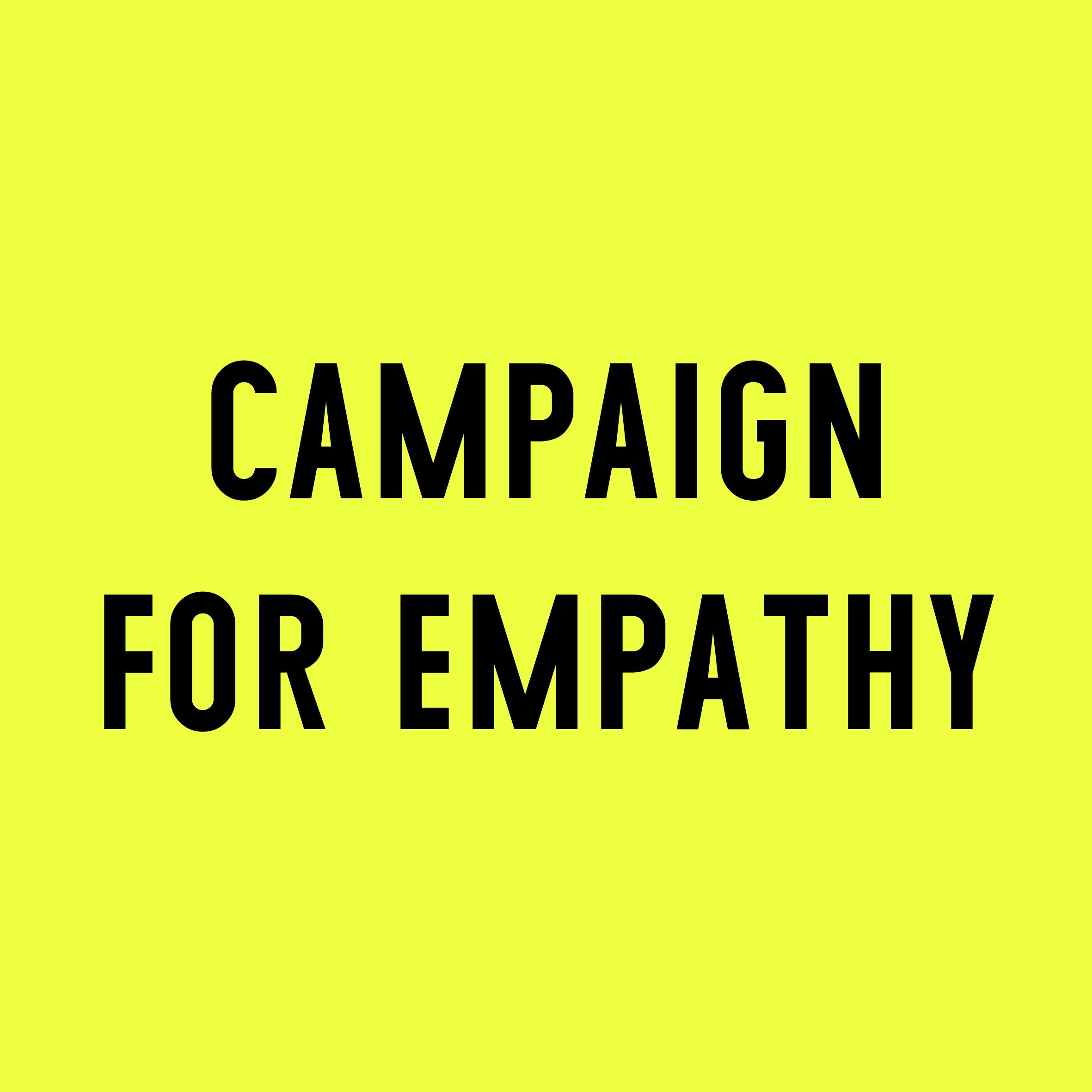 Enni-Kukka Tuomala, Campaign for Empathy logo