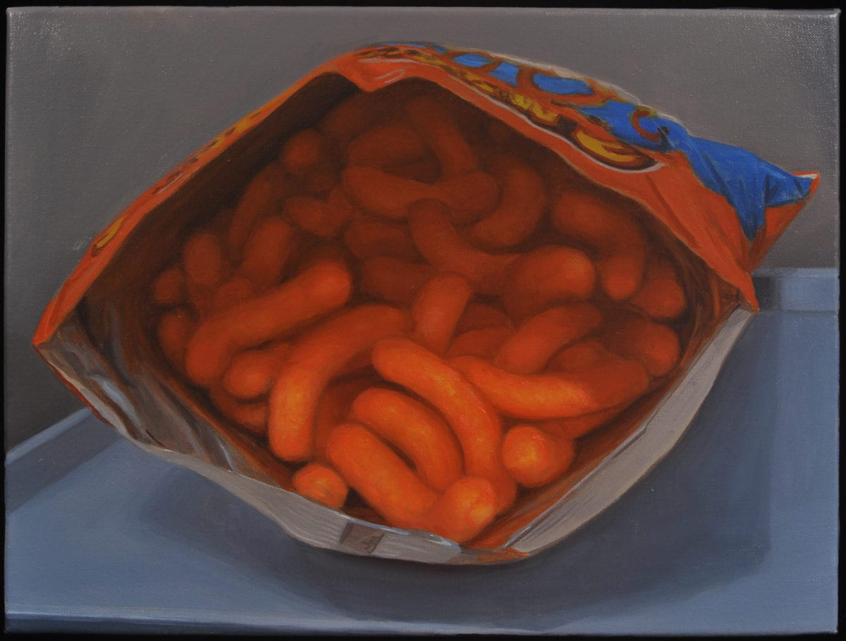Cheetos 16x20 oil on linen 2014