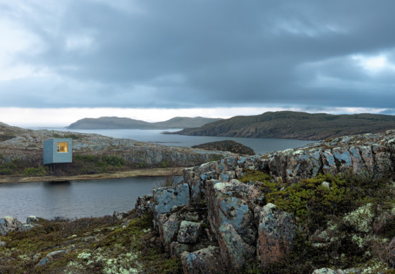 Saunders Architecture: Bridge Studio, Deep Bay, Fogo Island, Newfoundland, Canada. Photograph © 2019 Bent René Synnevåg
