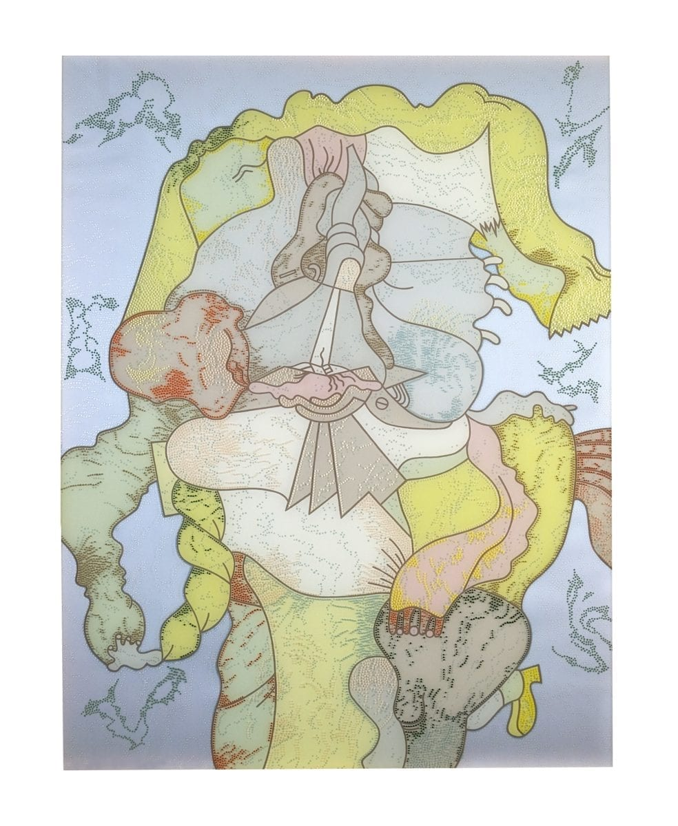 Barbara Rossi, Shep Step II, 1973. Courtesy Elmhurst College Art Collection